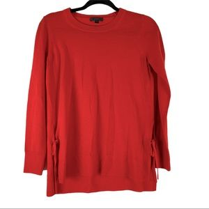 J.Crew Wool CrewNeck Sweater Red Size Extra Small